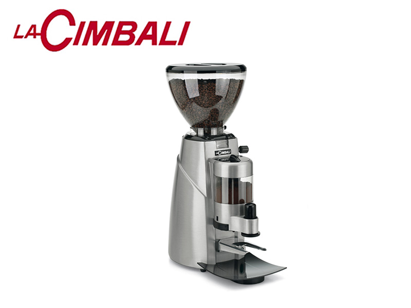 AUTO COFFEE GRINDER DOSERS-BRUSHED ALUMINUM BODY 220 V 300 W