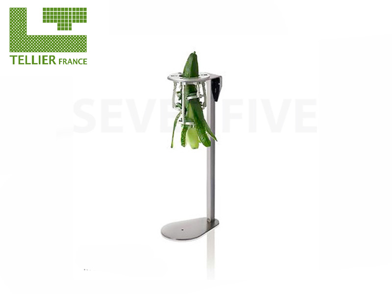 CUCUMBER PEELER ON STAND