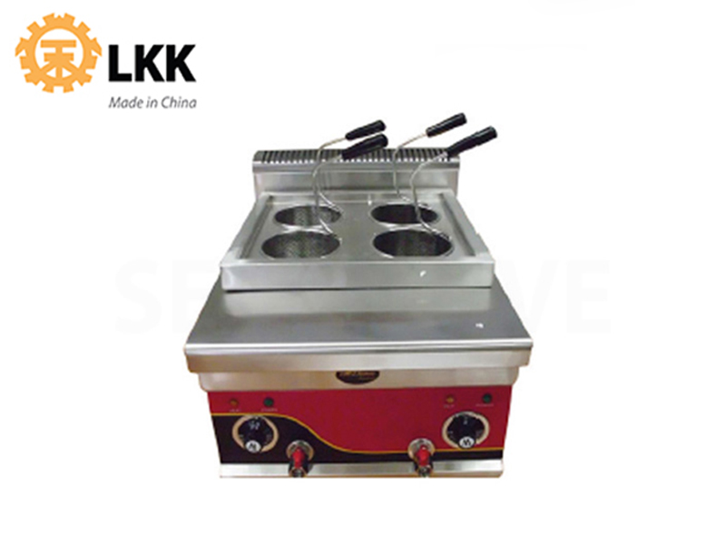 ELECTRIC NOODLE COOKER 4-HEAD 220V 4000W