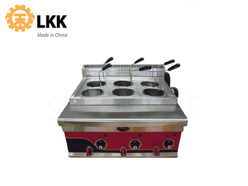 ELECTRIC NOODLE COOKER 6-HEAD 220V 6000W