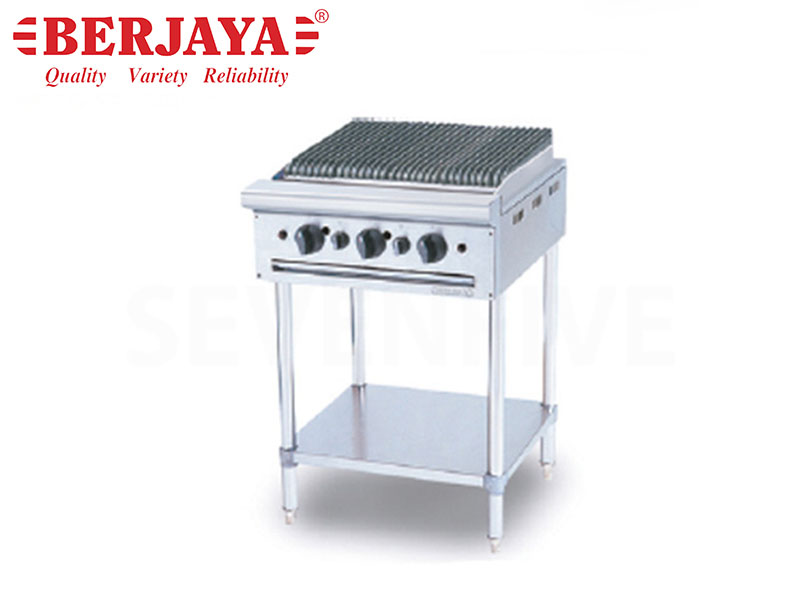 GAS CHAR BROILER FREE STANDING