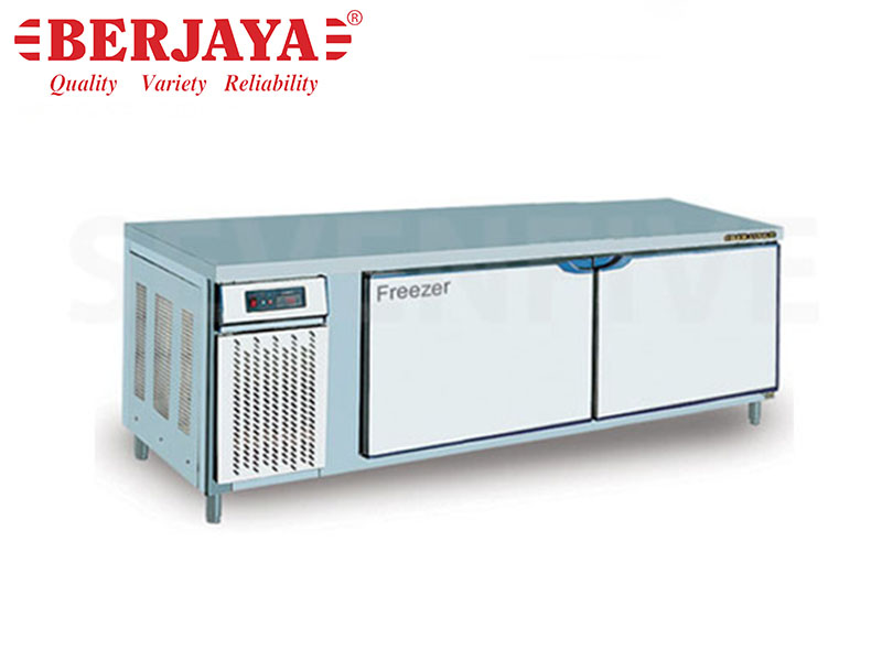 5FT 2 DOOR COUNTER FREEZER-BLOWER SYSTEM {WITH LEG}