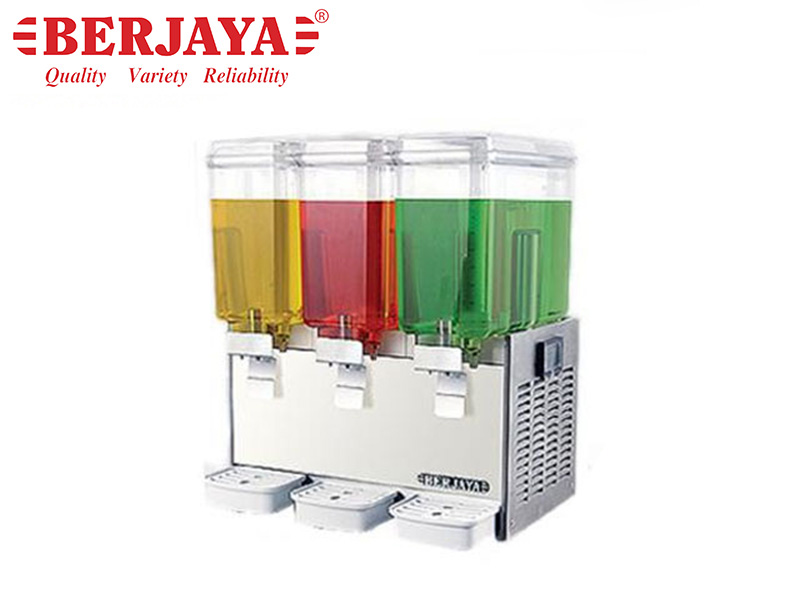 JUICE DISPENSER 3 BOWLS x 18.9 LTS. - JET SYSTEM
