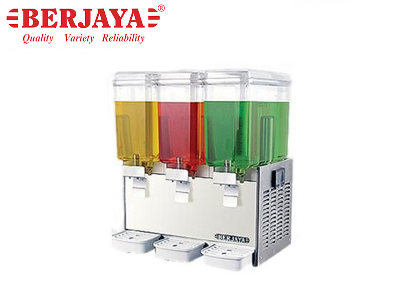 JUICE DISPENSER 3 BOWLS x 18.9 LTS. - MIX SYSTEM