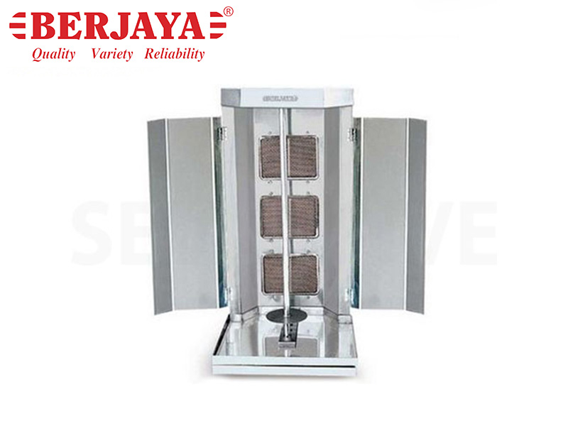 GAS KEBAB MACHINE(SHAWERMA GRILLER)-(MANUAL)