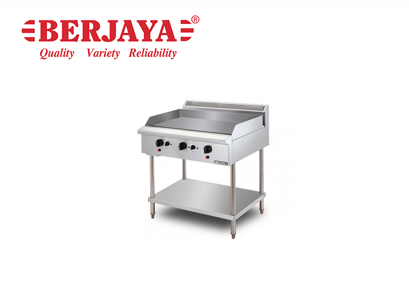 STAINLESS STEEL GAS GRIDDLE FREE STANDING