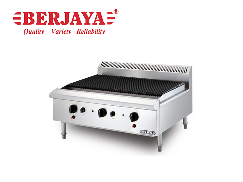 STAINLESS STEEL CHAR BROILER