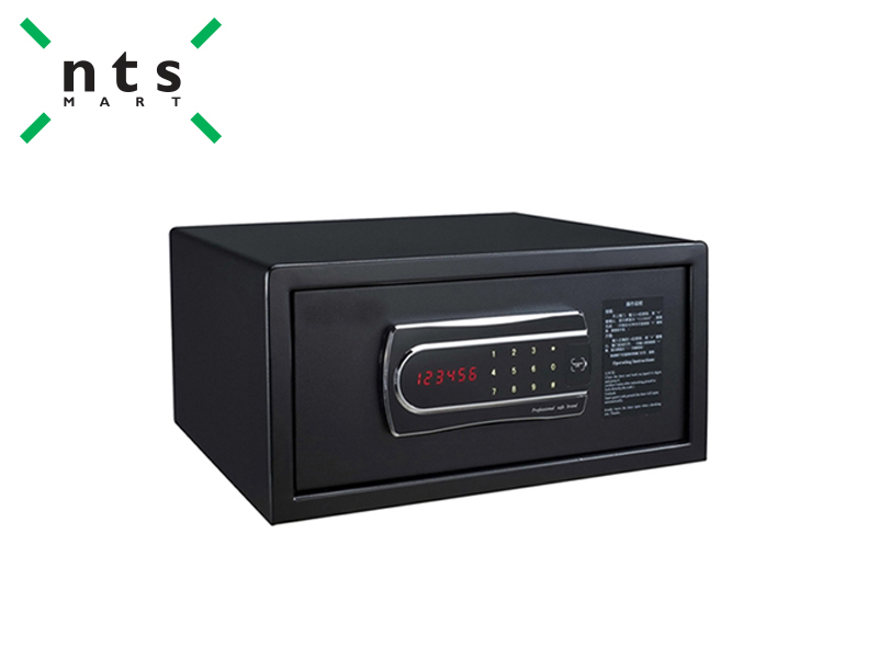 SAFE BOX , BLACK (TOUCH SCREEN)