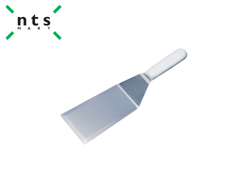 SPATULA WITH PLASTIC HANDLE