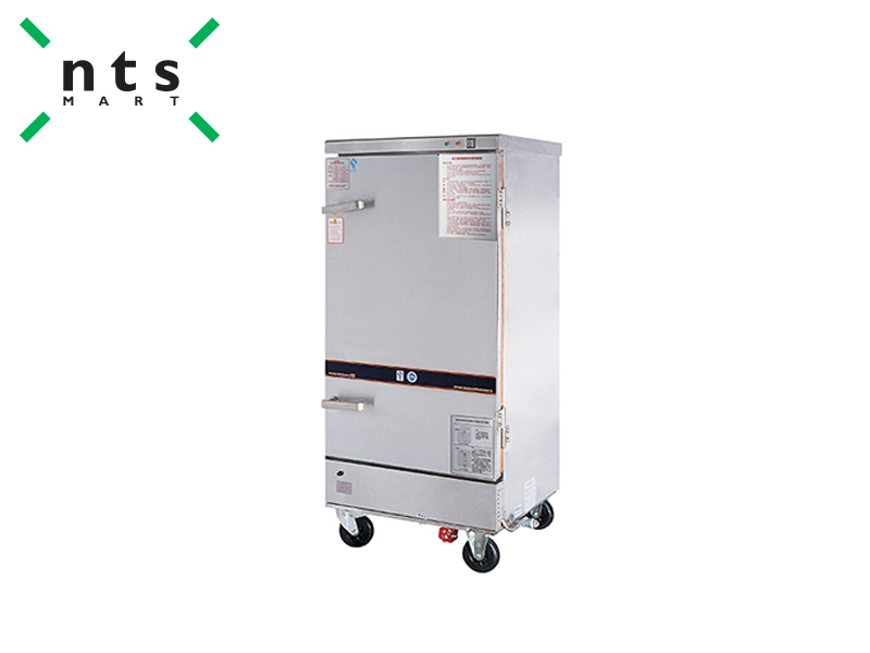 ELECTRIC HEATING & STEAM HEATING RICE STEAMING CART