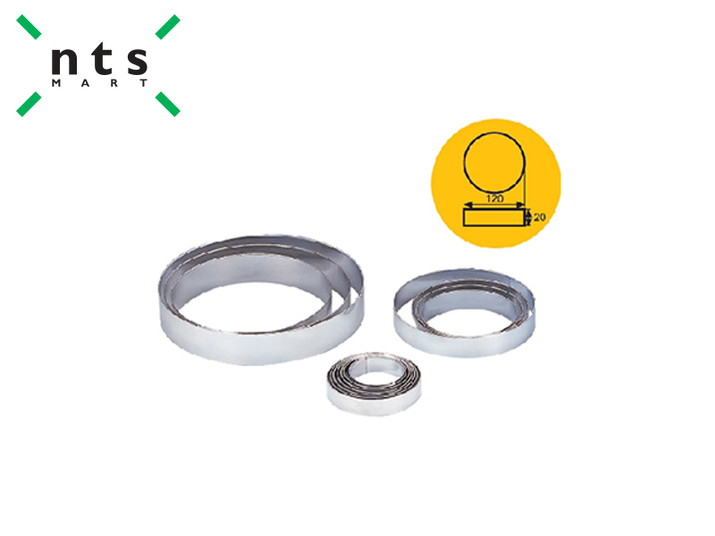 S/S ROUND RING DIA140 X 30 MM