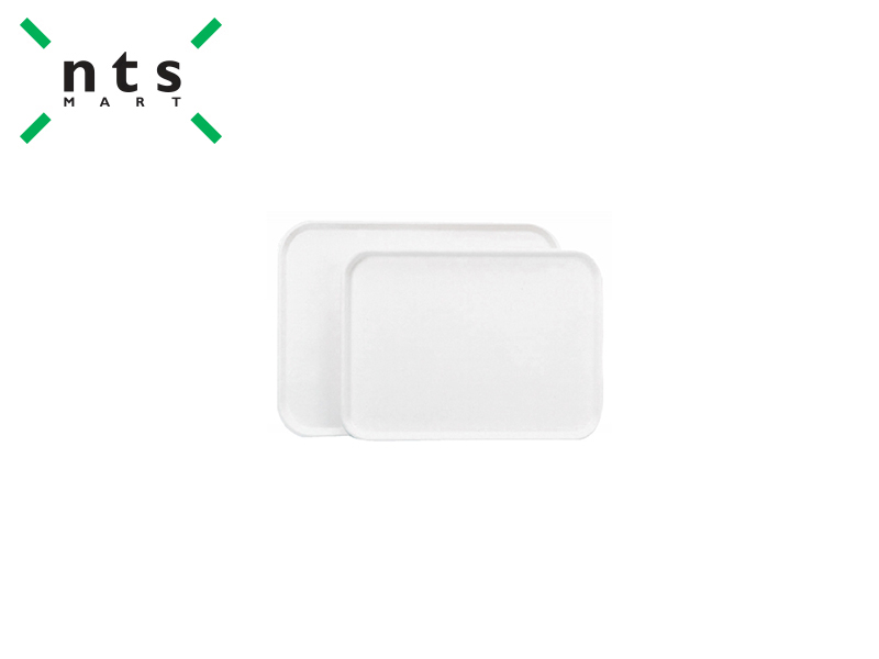 PLASTIC DISPLAY TRAY , WHITE