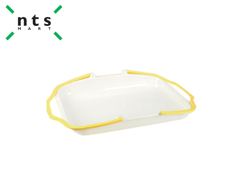 PLASTIC BASKET (RICE WHITE / YELLOW)