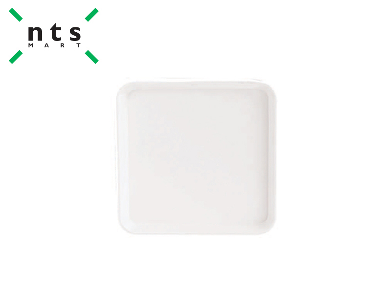 PLASTIC SQUARE DISPLAY TRAY (WHITE)