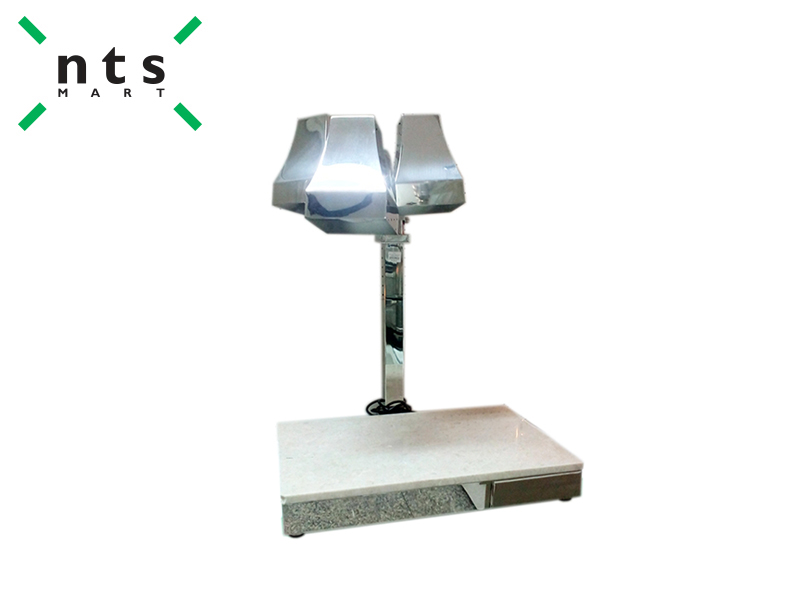 HEAT LAMP CARVING STATION , STAINLESS STEEL COLOR