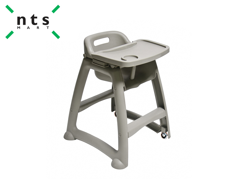 BABY CHAIR WITH WHEEL AND TRAY