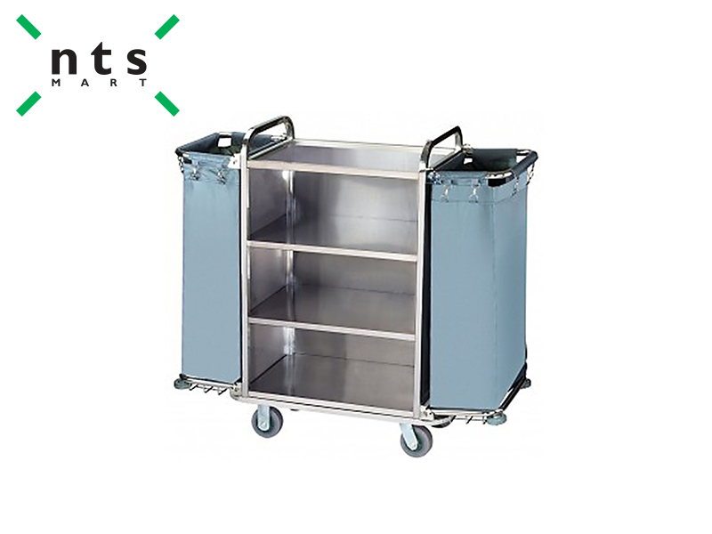 HOUSE KEEPING CART DIMENSION 1380x460x1190 MM