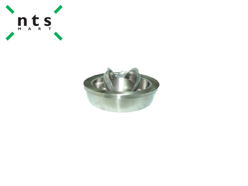 ASHTRAY WITH LID (CENTER OPEN DESIGN)