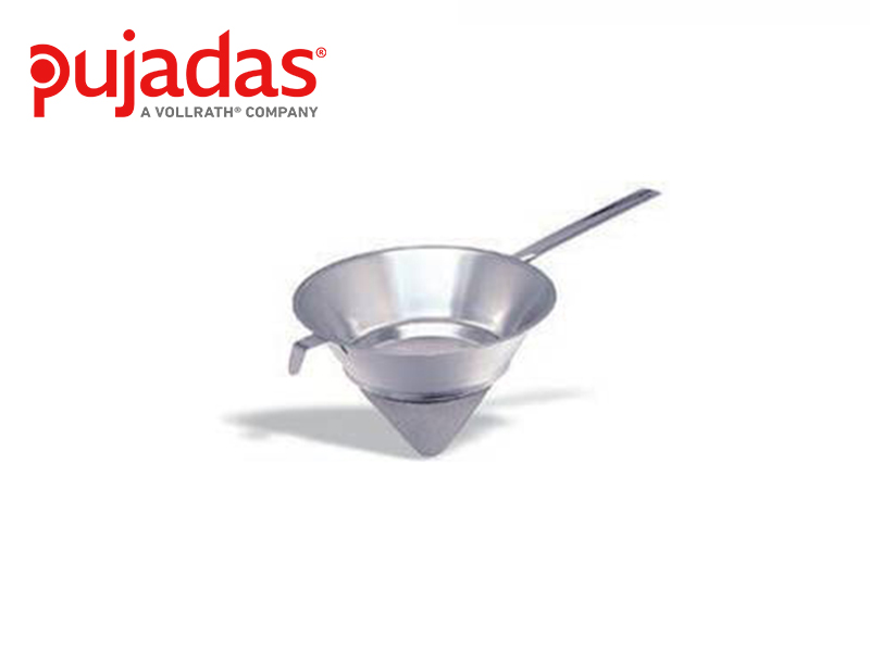 S/S 304 CONICAL COLANDER W/WIRE GAUZE