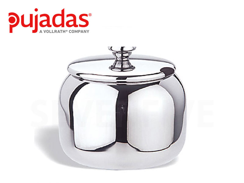 S/S 304 SUGAR BOWL WITH LID