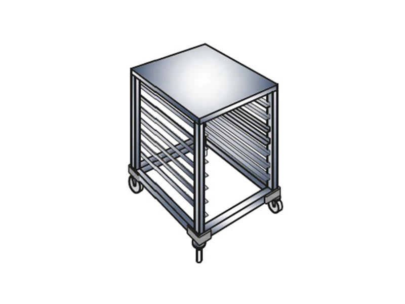 BAKING TRAY TROLLEY