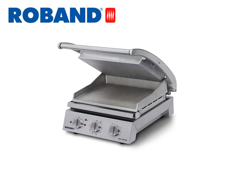 CONTACT GRILL SMOOTH TOP PLATE 6 SLICES