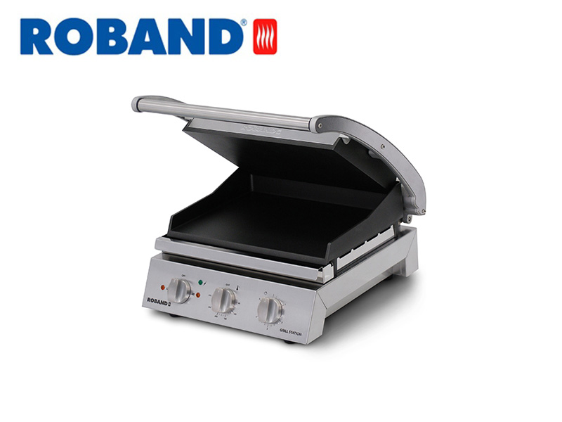 CONTACT GRILL STATION SMOOTH TOP PLATE NON-STICK 6 SLICES