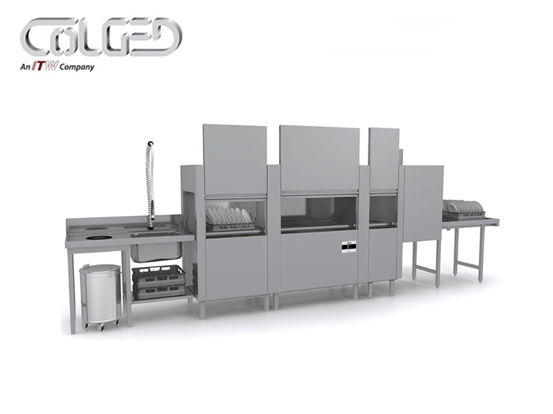 RACK CONVEYOR DISHWASHER