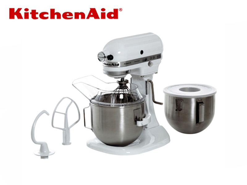 FOOD MIXER DOUBLE BOWLS {WITH BEATER, HOOK, WHIP} 220 V 250 W