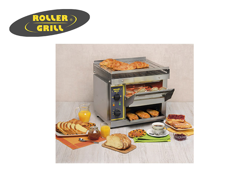 ELEC CONVEYOR TOASTER DOUBLE WITH BACK EXIT