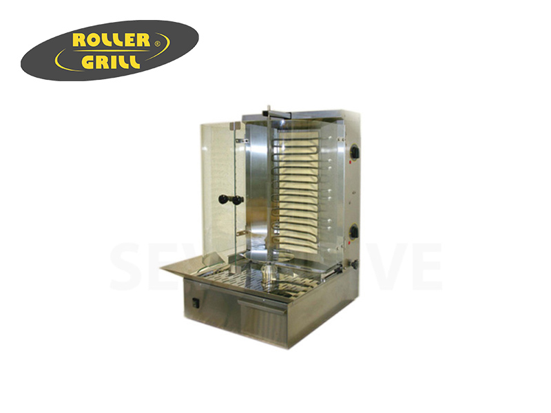ELEC GYROS GRILL SPIT HEIGHT:600 MM