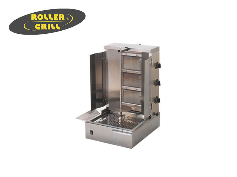 GAS GYROS GRILL SPIT HEIGHT:600 MM.