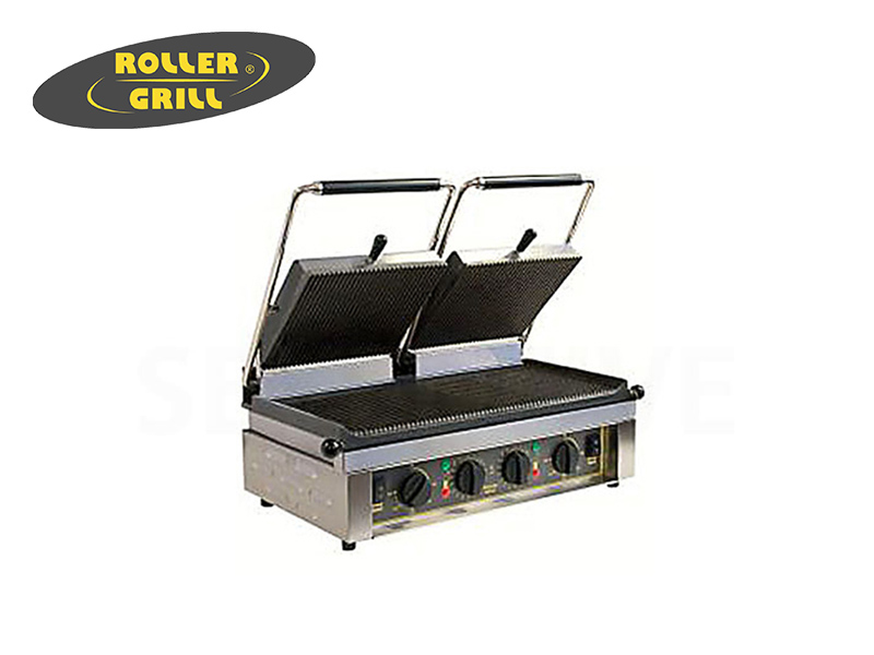 ELEC. DOUBLE CONTACT GRILL (GROOVE/GROOVE)