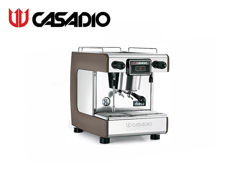 SEMI-AUTO COFFEE MACHINE 1 GROUP {WITH 3xSTEEL BAR} {INCLUDE W/R} RED