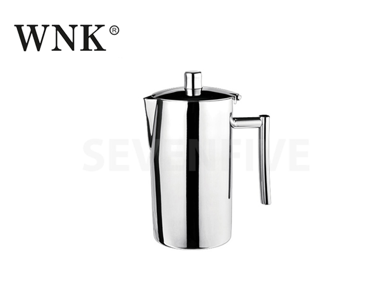 DOUBLE WALL WATER PITCHER 48 OZ (MIRROR FINISH)
