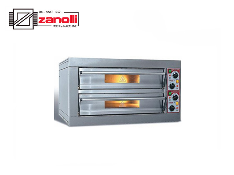 ELEC PIZZA OVEN DOUBLE DECK