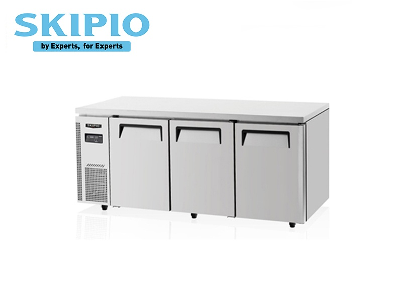 3 DOORS UNDER COUNTER CHILLER S SERIES WITH LEGS