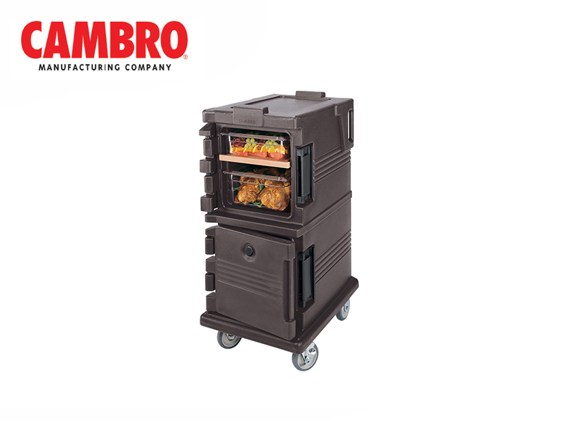 ULTRA CAMCART DOUBLE COMPARTMENT FOR GN 1/1 {WITHOUT THERMOMETER}
