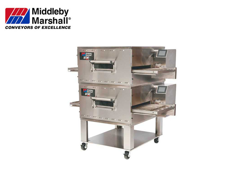 DIRECT GAS FIRED CONVEYOR  OVEN, DOUBLE DECK