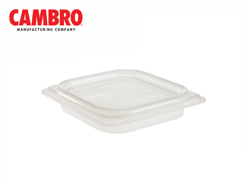 CAMWEAR POLYCARBONATE SEAL COVER GN1/6 TRANSLUCENT