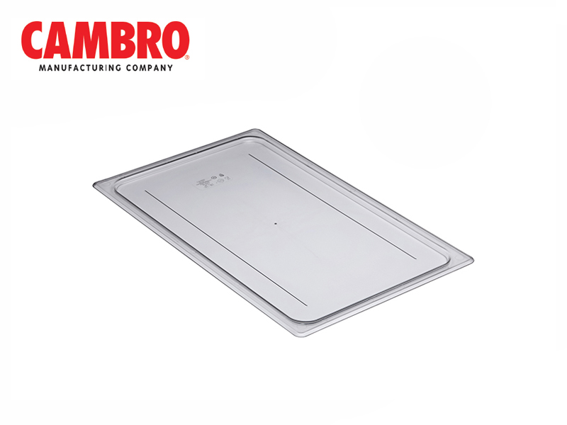 CAMWEAR POLYCARBONATE LID FLAT COVER GN1/1