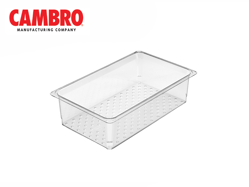 CAMWEAR POLYCARBONATE GASTRONORM FOOD PAN  COLANDER GN1/1