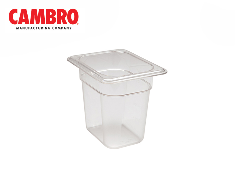 CAMWEAR POLYCARBONATE FOOD PAN 1/8 x 150 MM, CLEAR