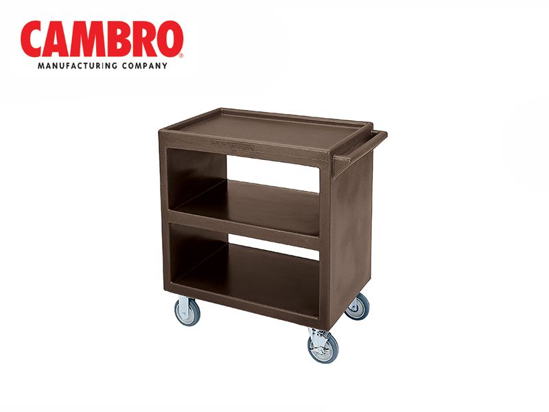 SERVICE OPEN CARTS, DARK BROWN
