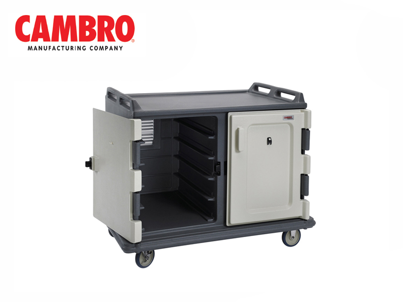 20-TRAY MEAL DELIVERY CART - LOW PROFILE