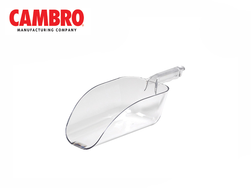 CAMWEAR POLYCARBONATE SCOOP, CLEAR