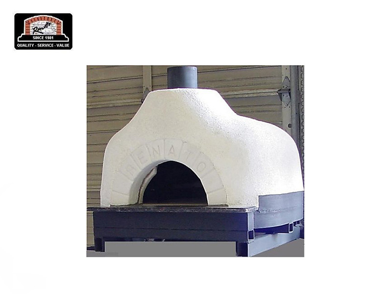 STUCCO PIZZA OVEN