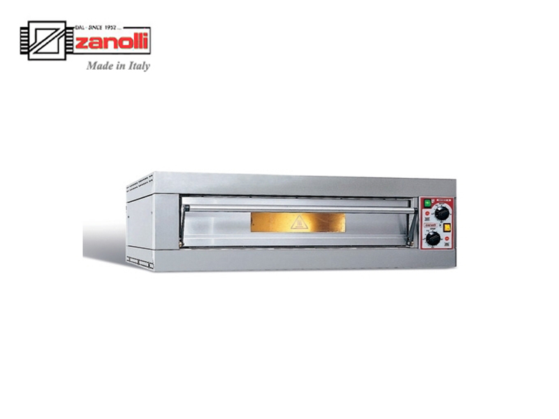 ELEC PIZZA OVEN 1 DECK 380V 6000 W { CITIZEN EP65 4/MC }