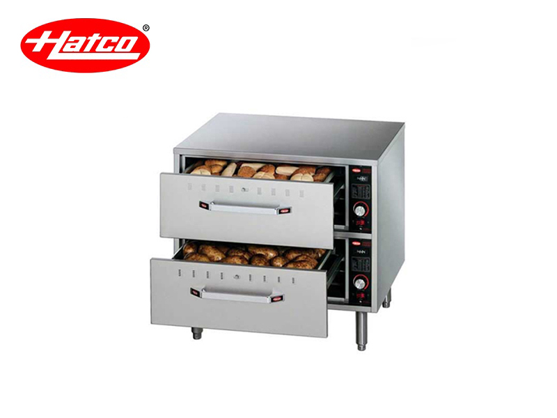 FREESTAND 2 DRAWERS WARMER {WITH PAN} 220 V 900 W