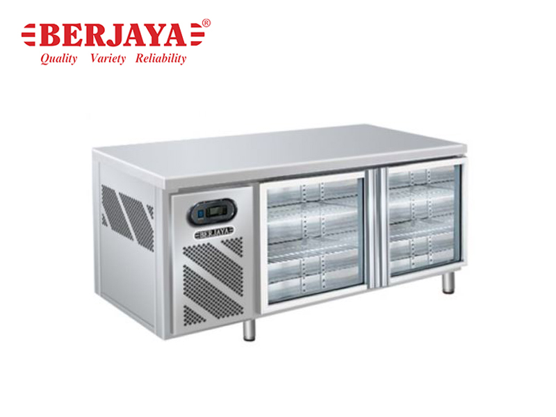 6FT 2 DOOR REFRIGERATED BARLINE